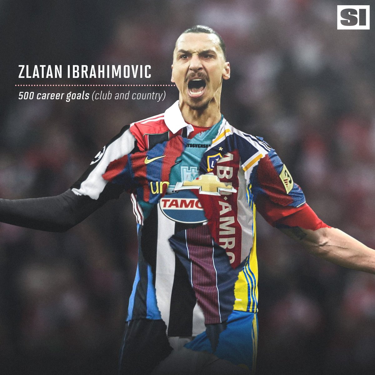 Zlatan500 Zlatan Ibrahimovic Scores His 500th Career Goal