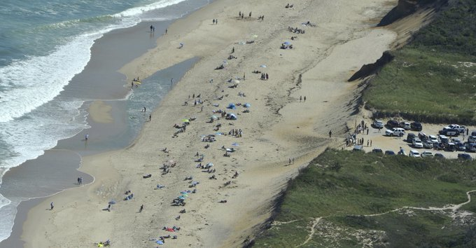 """'It was like right out of that movie 'Jaws"""": Revere man killed in shark attack at a Wellfleet beach Photo"""