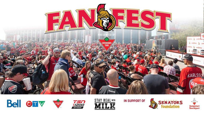 Very excited for my first ever #SensFanFest tomorrow! There is no question - the @Senators have some of the best fans ever & I love any opportunity to meet them! If attending tomorrow, make sure you come and say hello to @TheFordSUPERfan! 😁 Photo