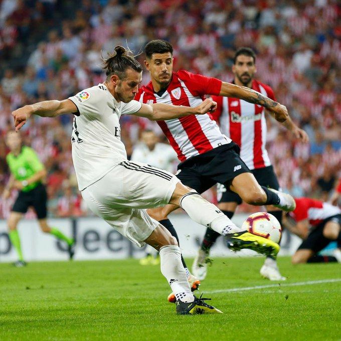 🇪🇸 Athletic Bilbao 1-1 Real Madrid: tropeço do Real e fim dos 100%. Muniain abriu o placar para o Bilbao no 1° tempo. Isco deixou tudo igual na etapa final. Destaque para as atuações dos goleiros Unai Simón e Courtois, responsáveis pelo empate 📸 @realmadrid Photo