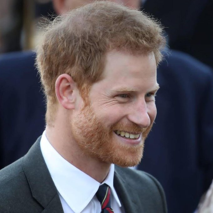 "Happy birthday Prince Harry ""Duke of Sussex"