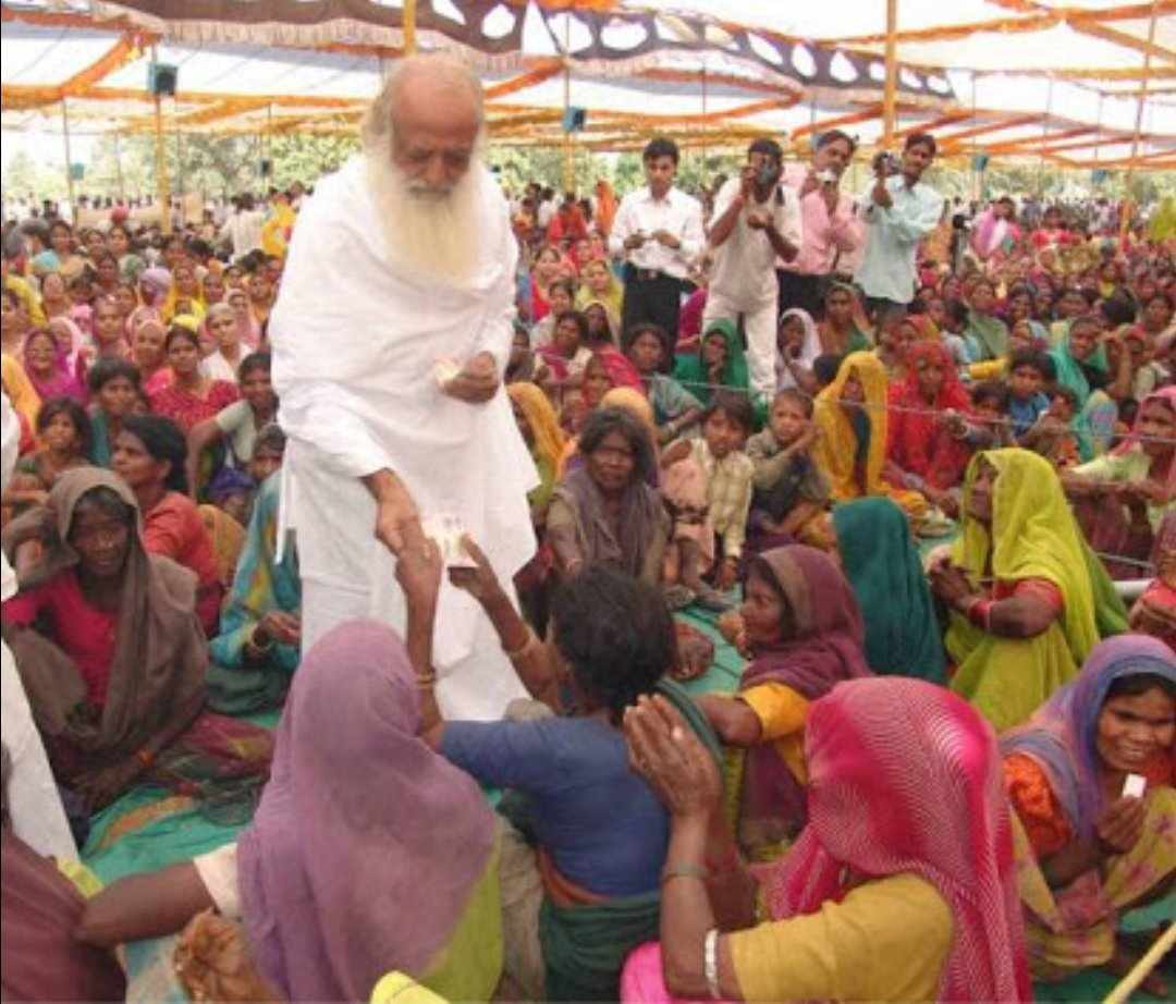 #FakeCaseOnAsaramBapuji  is itself , the loss of entire humanity in the world. Still thousands  of social upliftment activities are going on ,  #Parentsworshipday  #Tulsipoojan   Are among them which ....are ...beneficial for...all religion's  people. #Humanity #EarthSaviour <br>http://pic.twitter.com/16a3yNg62c