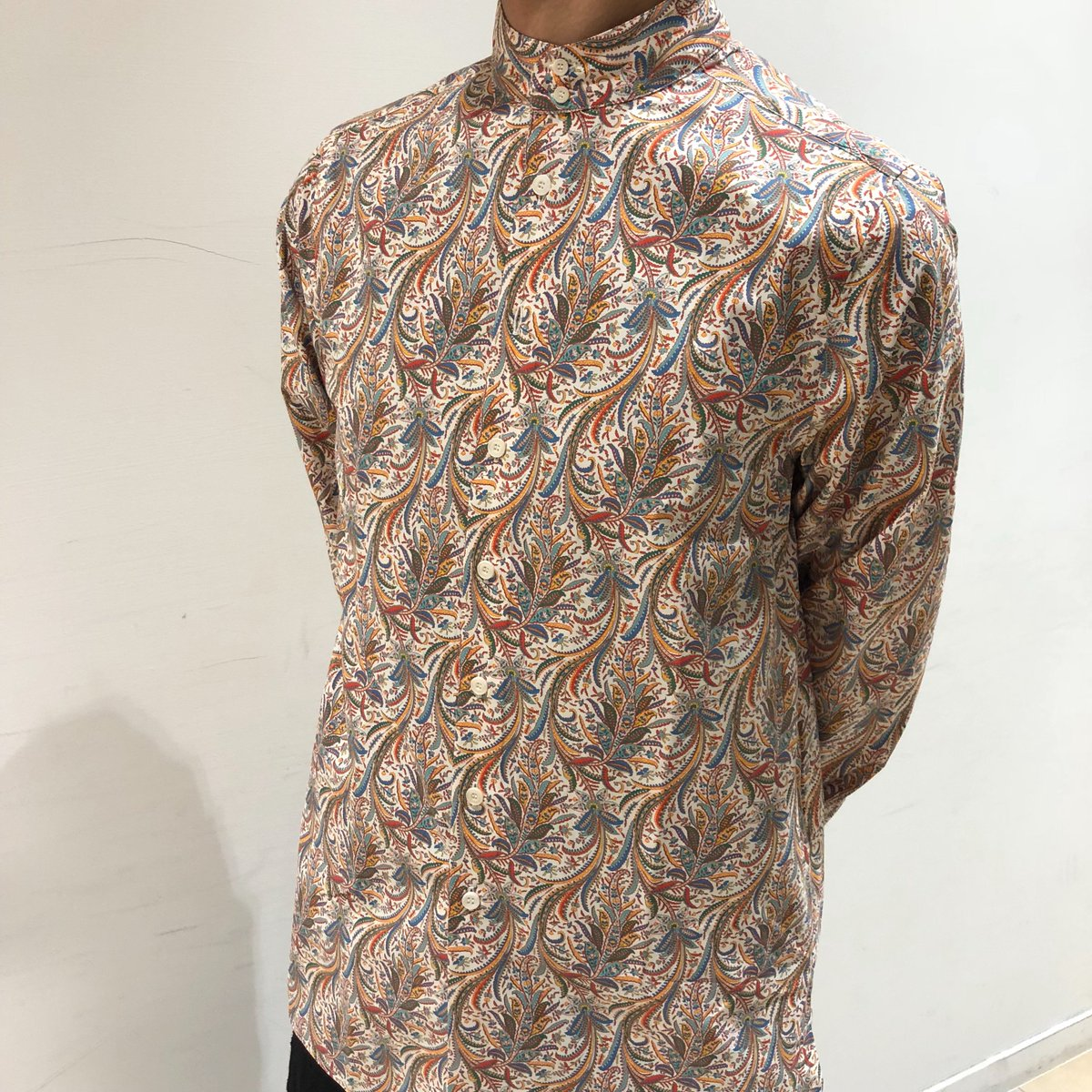 【NEW ARRIVALS】WHITE ALBUM LIBERTY FAB. LS カフタンシャツ(¥19,000+ta