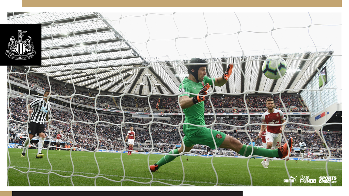 Newcastle were beaten 2-1 at St. James Park by @Arsenal yesterday, despite Ciaran Clarks goal. Read the match report here: nufc.co.uk/matches/first-… #NUFC
