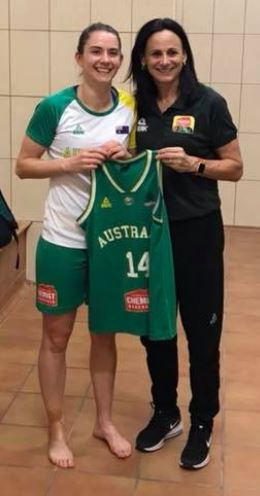 ICYMI: 2nd late injury withdrawal for @BasketballAus Opals at @FIBA World Cup. Photo