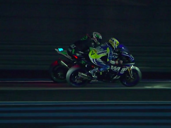 Huge battle between Danny Webb and Etienne Masson for the 2nd place! #BOL2018 #FIMEWC Photo