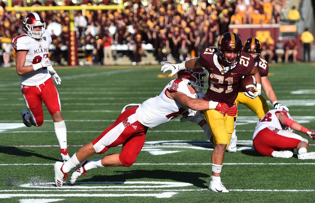 Gophers' Bryce Williams fills running-game void in 26-3 win over Miami https://t.co/Ks35HKx1OU