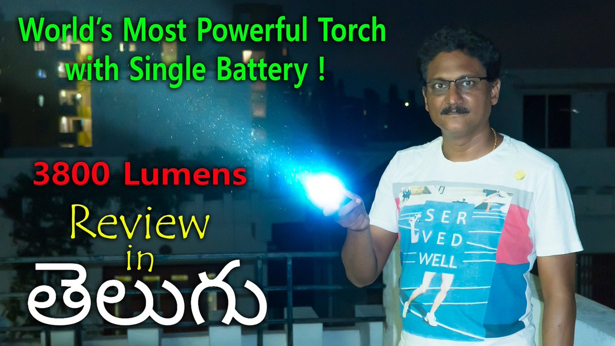 3ed516477af9 ...  flashlight  torch with  single  battery  unboxing    review in  telugu  watch the  video on my  youtube  channel Link in Bio .pic.twitter.com FDeV5MPvv0