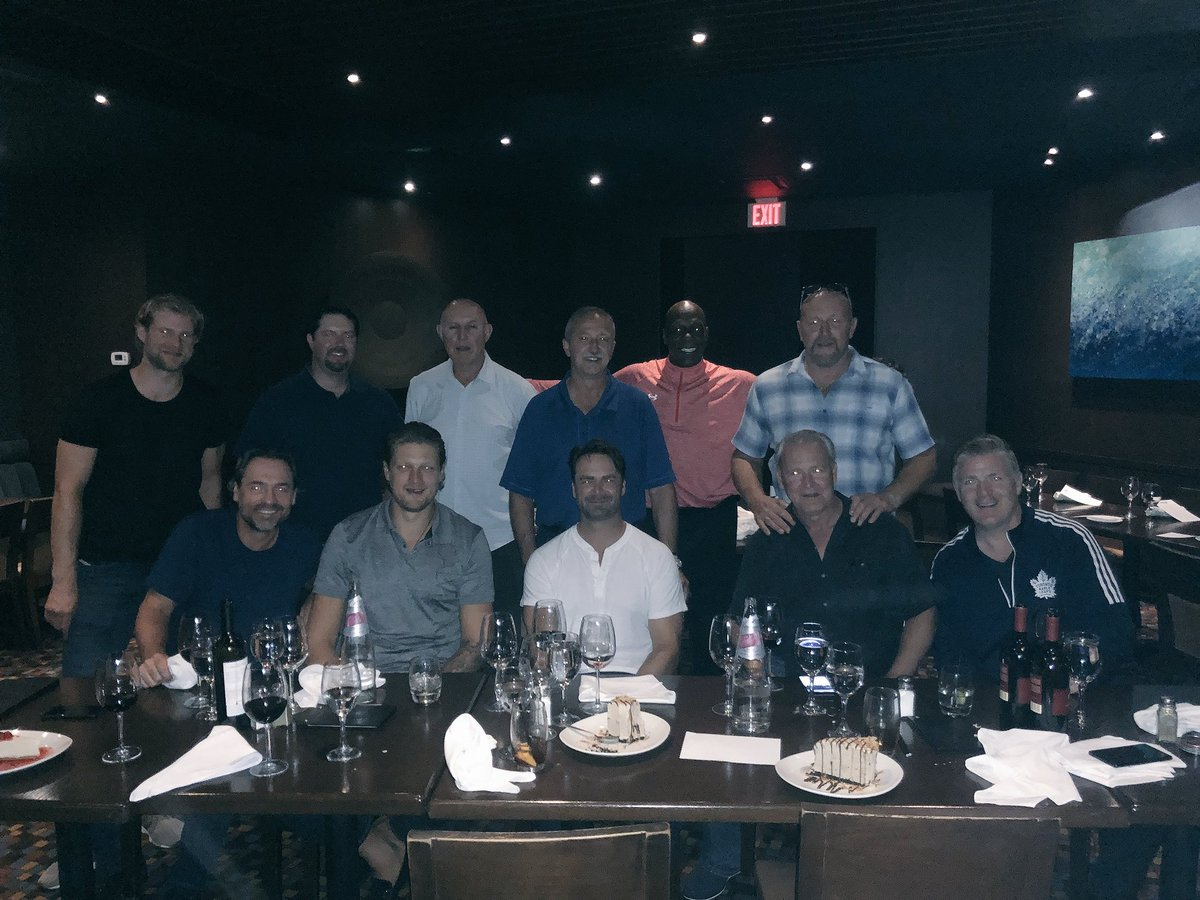 Twitter post: RT @LeafsAlumni: Thank you to @TheKeg for hosting…Read more. Opens full post in an overlay