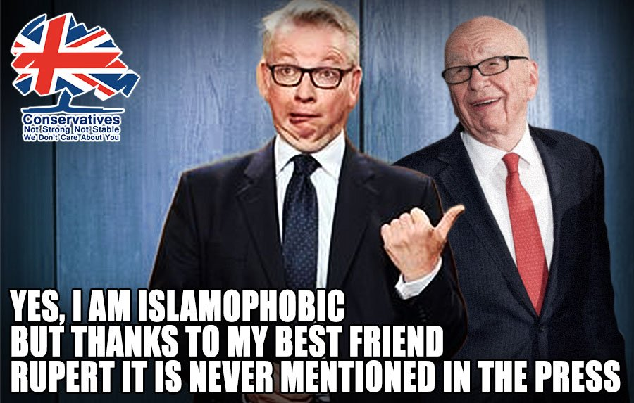 Sayeeda Warsi, the ex-Tory Chair, has claimed that Minister Michael Gove has extreme Islamophobic views - yet there is almost no coverage in the press. Why is that? #ToryIslamophobia #Islamophobia #marr #ridge #SundayMorning