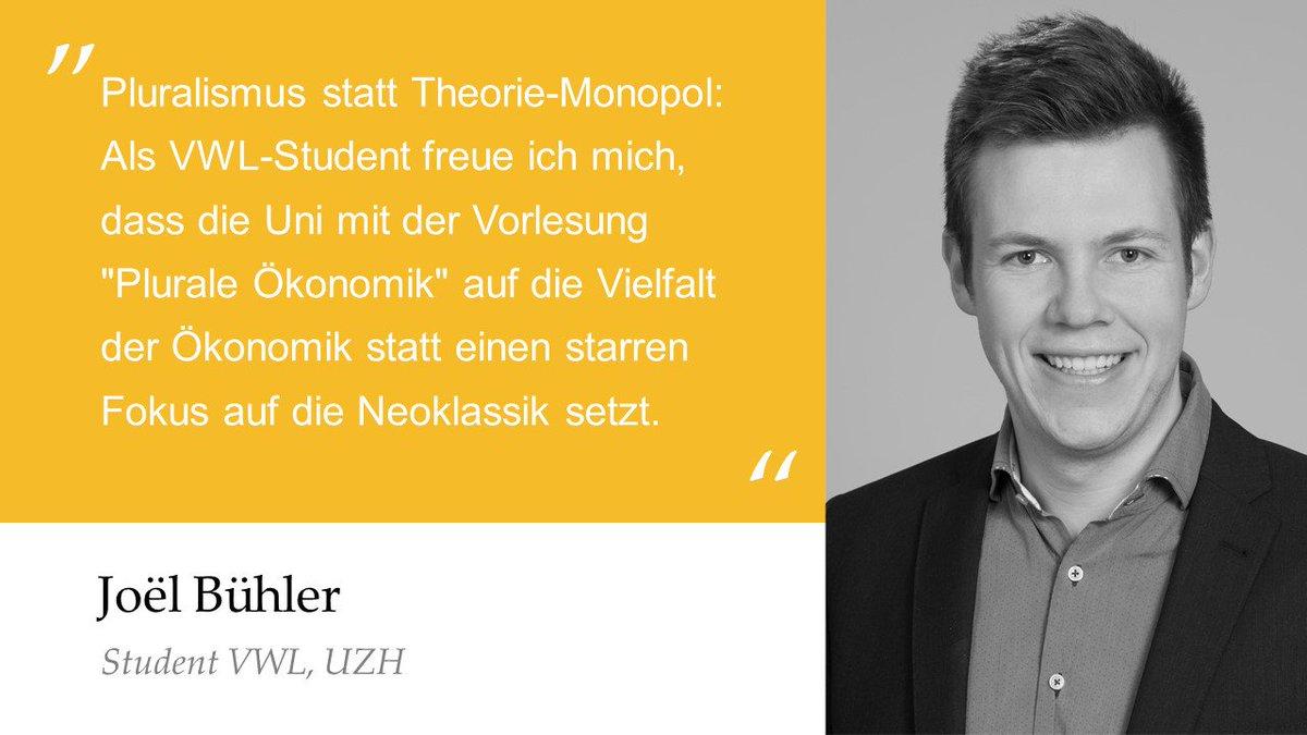 Plurale ökonomik Zürich On Twitter Unser Mitglied At Joelliambuehler