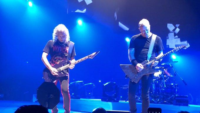 .@Metallica was incredible at the @SaskTelCtr in Saskatoon tonight. Wow. Well worth the drive. #MetInSaskatoon Photo