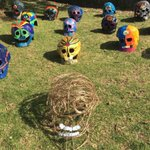 "See @sjchsdow's ""Too Cool For Skûll"" installation, Stella Maris Shellharbour's 'Kinder clean up in a clam' & 85 other works at the 3rd annual 'Sculptures at Killalea' Festival til 23 Sept. Visit https://t.co/GsStqsQLKj for the full program. #sculpturesatkillalea @ShellharbourCC"