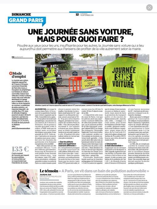 #JourneeSansVoiture Photo