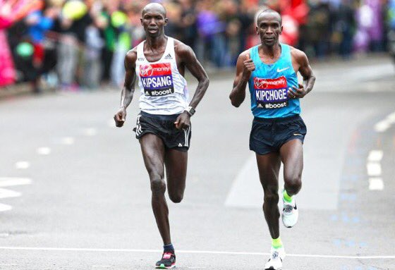 Excited by what will likely be a historic race #berlinmarathon 2018. Conditions this morning look good and it will probably boil down to strategy @EliudKipchoge @Kipsang_2_03_23 Go Kenyans, make us proud!! 🇰🇪 Photo