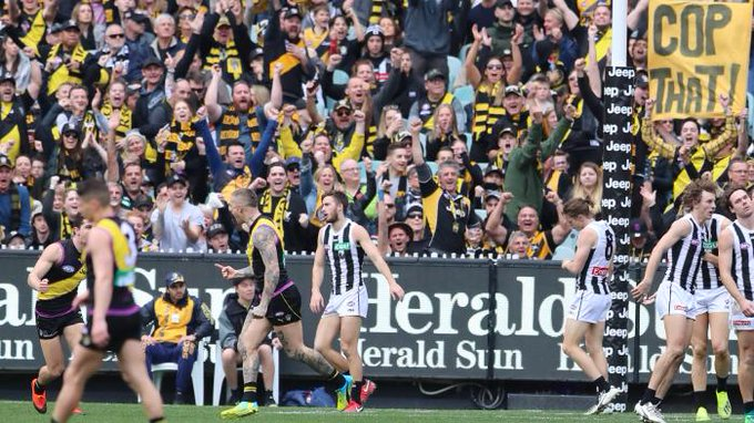 Get set for what may be the biggest prelims in VFL/AFL history. Collingwood v Richmond and West Coast v Melbourne could lead to some attendance records - and for the first time in 16 years, we're without the big three recent dynasties: Photo