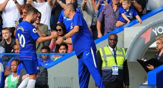Maurizio Sarri makes a stunning prediction about Eden Hazard Photo