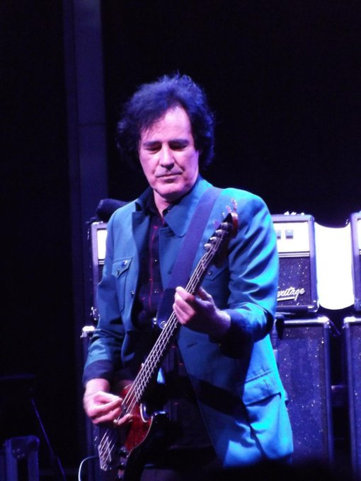 A very happy birthday to Badass Bass Blair.   Ron Blair- Fenway Park 2014.