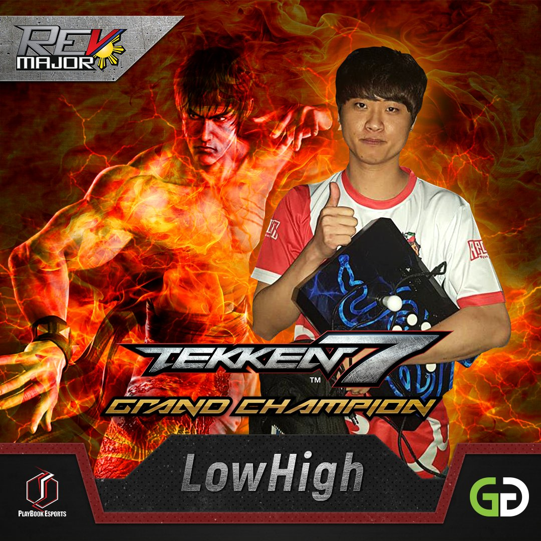 Gg Network On Twitter What A Performance From The Evo 2018 Champ Congratulations To Lowhigh For Winning The Tekken 7 Tournament At Rev Major 2018 Against Fellow Korean Ulsan Revmajor2018 Doitagain Revmajoronaksyon