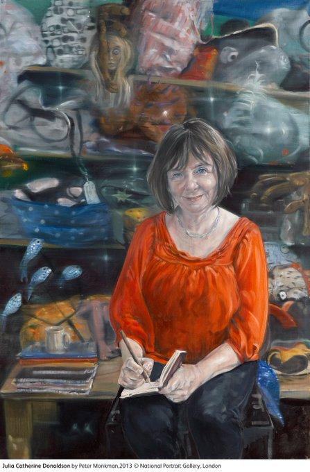 Happy birthday writer, playwright and 2011-2013 Children\s Laureate Julia Donaldson born 1948.