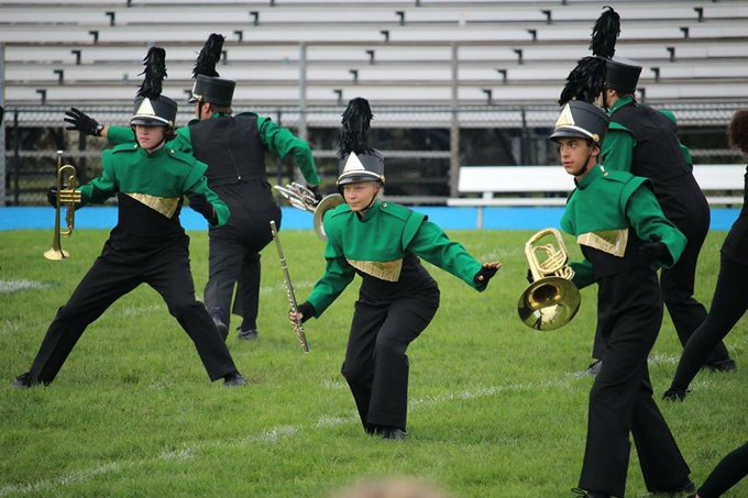 CONGRATULATIONS MAINLAND MARCHING BAND 3rd place 🏆 — at Williamstown High Band Competition. (Thanks Stacey Gross for sharing your post!) Photo