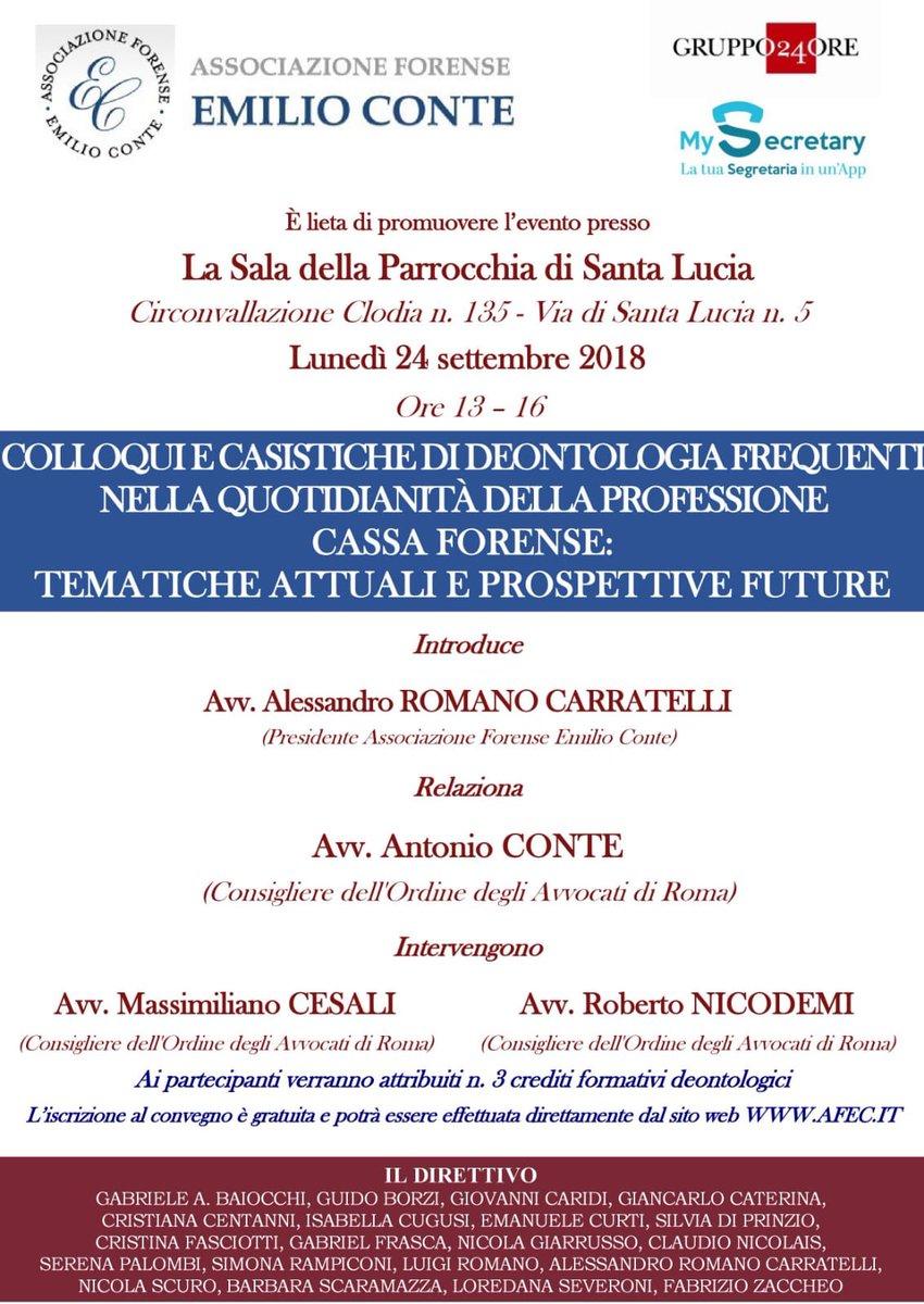 #Convegni #roma #avvocati @AssEConte da non perdere.#crediti #formativi QUALITÀ  - Ukustom