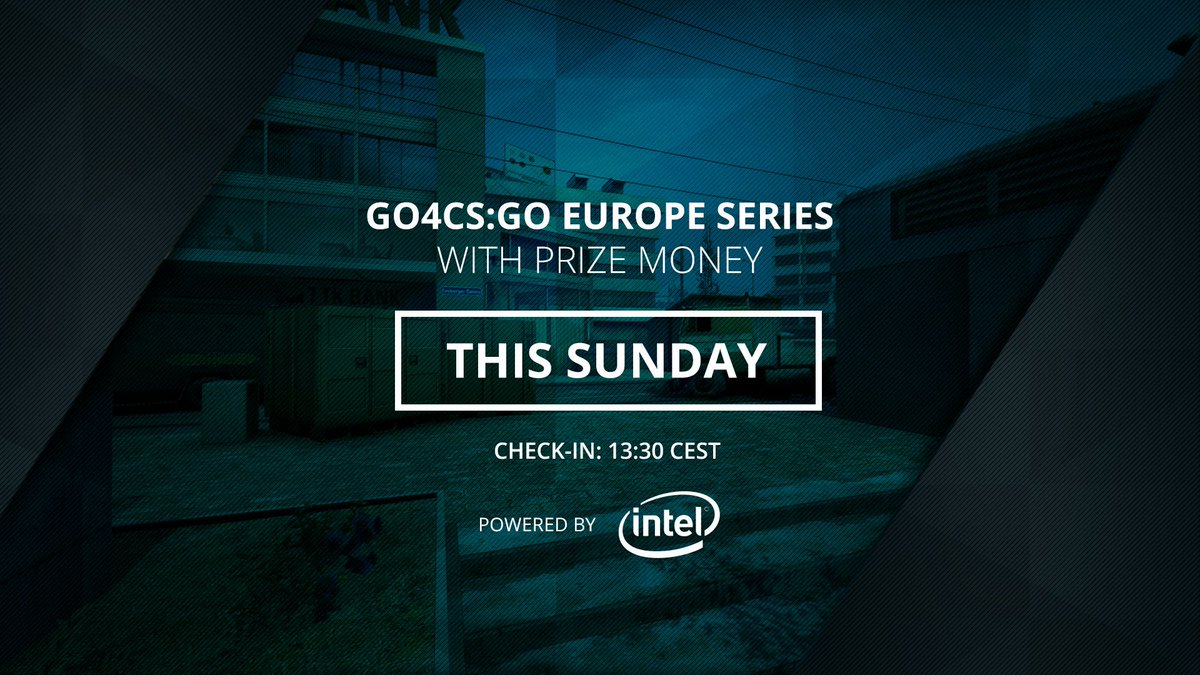 Check-in is up in 30 minutes for the todays #Go4CSGO Europe Cup powered by @IntelGaming. ➡️ esl.gg/go4csgo-321