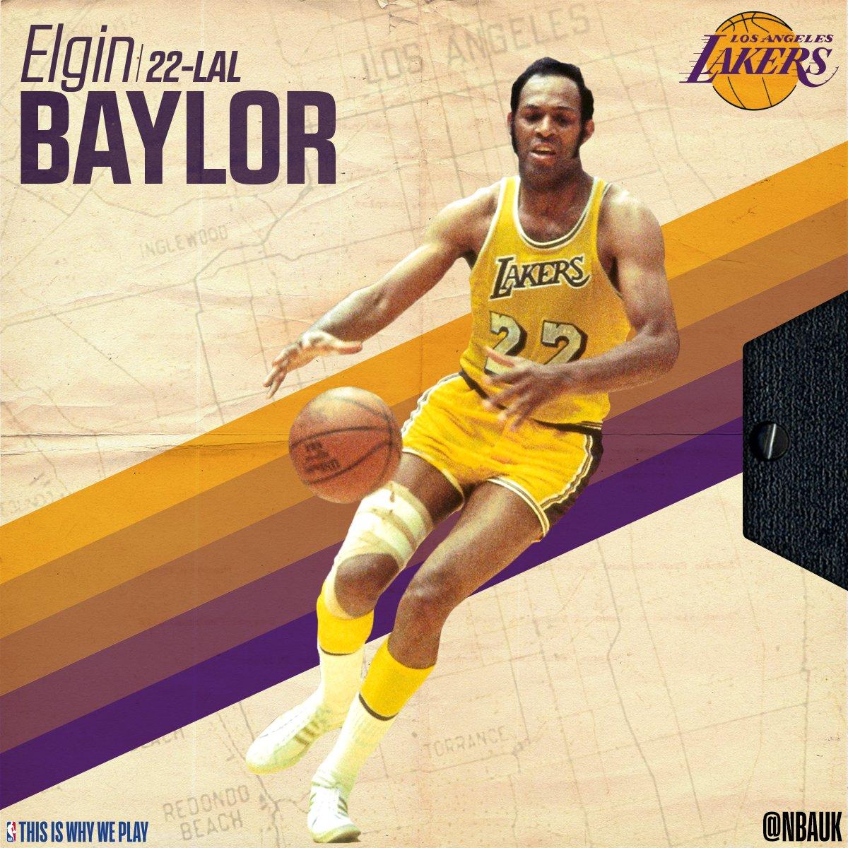 Happy birthday to legend, Elgin Baylor!