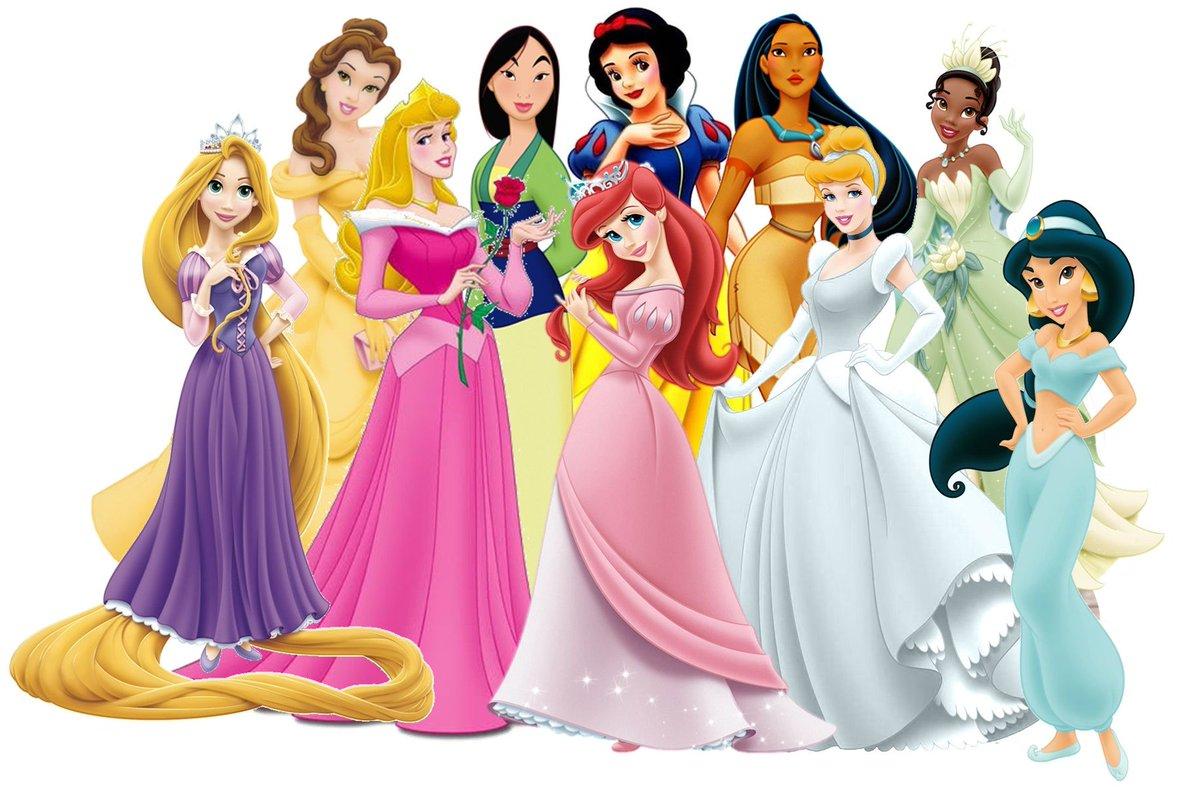 Картинки детские про принцесс