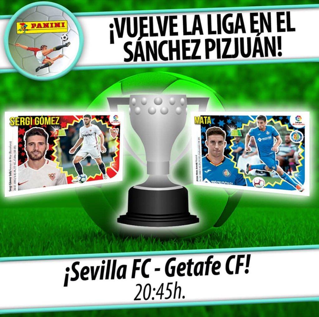 🗓 16-09-2018 🏟 Sevilla FC - Getafe CF ⏱ 20:45
