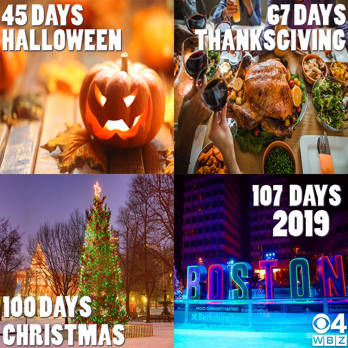 Days Until Christmas 2019.Wbz Cbs Boston News On Twitter Ready To Get In The
