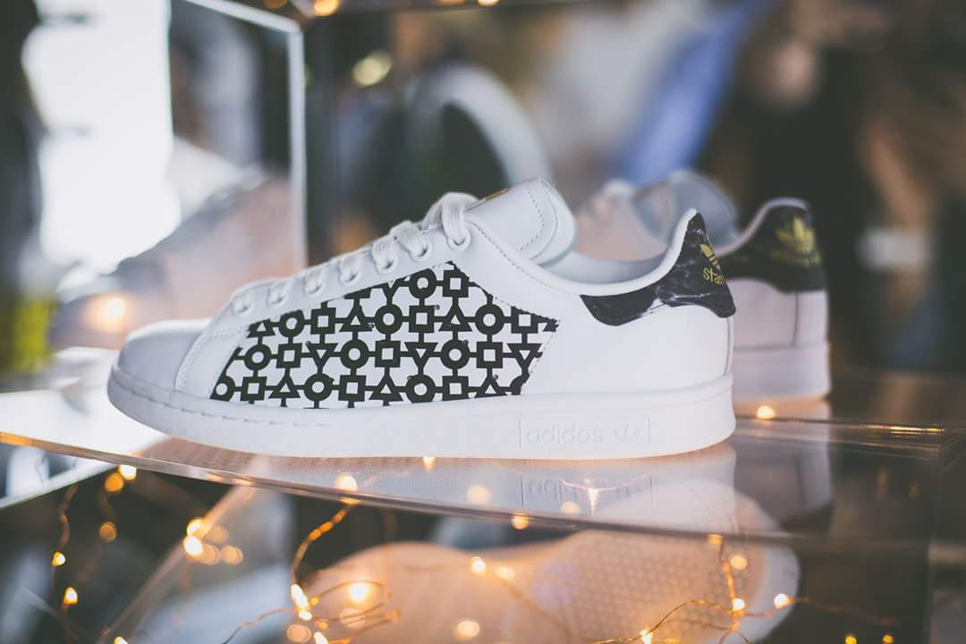 29e7cc70c7cf Custom for  Tournaire and S2 sneakers montbrison collab project Stan Smith  X Tournaire  tournaire  s2sneakersmontbrison  handpainted  collaboration ...