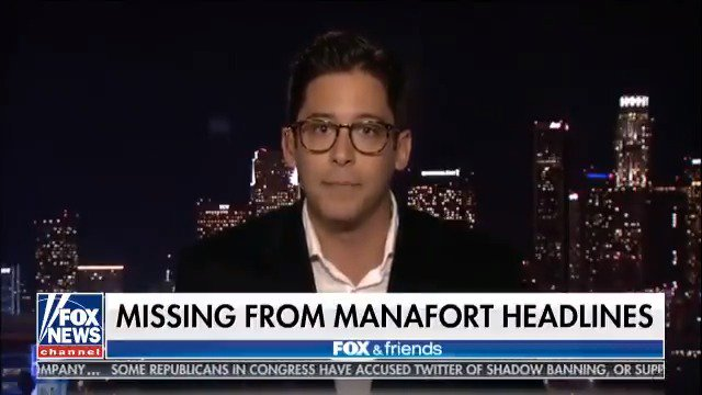 """Paul Manafort's real crime is committing the unforgivable sin of working for President Trump"" -@michaeljknowles https://t.co/VYoQPiZLiz"