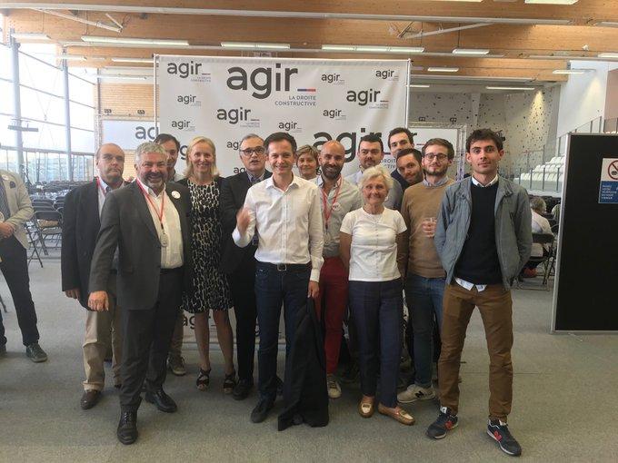 L'équipe @agir_paris_off présente au #CongrèsAgir #AgirParis Photo