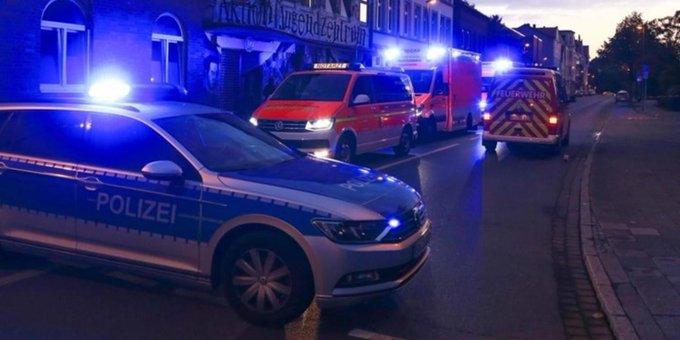 Kurz vor sechs Uhr kam es am Sonntagmorgen in der Friedrichstraße in #Neumünster zu einer tödlichen Auseinandersetzung. Foto