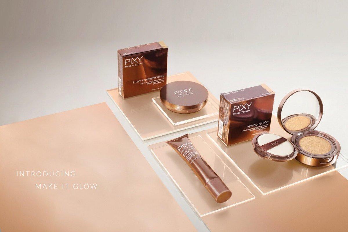 Pixy Indonesia Pixyindonesia Twitter Profile Twipu Eyebrow Brown Make It Glow Consists Of Dewy Cushion Beauty Skin Primer Silky