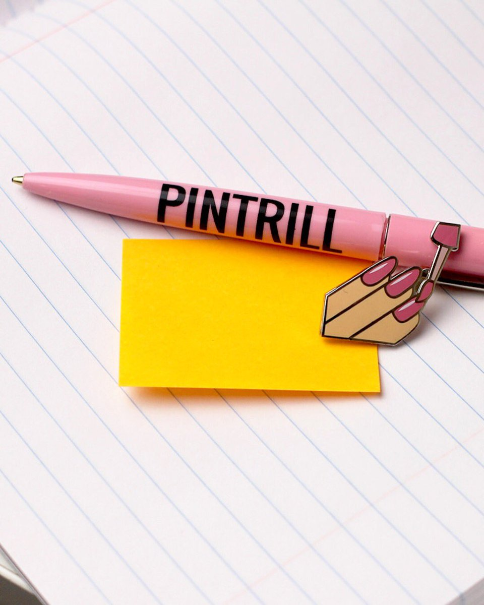 BACK 2 SCHOOL SPECIAL📝 Buy 3 pins, get a free @pentrill_ pen 🖊 pintrill.com *While supplies last.