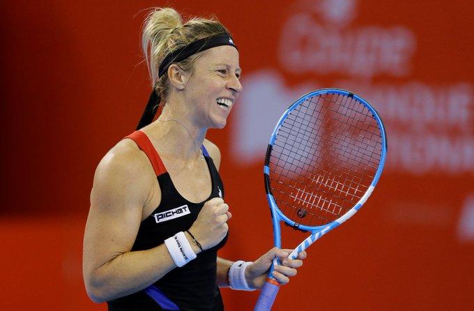 #WTA Quebec 🇨🇦🎾 - Final: Pauline Parmentier 🇫🇷 se quedo con el @CoupeBN en Canadá luego de vencer 7-5 6-2 a Jessica Pegula 🇺🇸 Photo