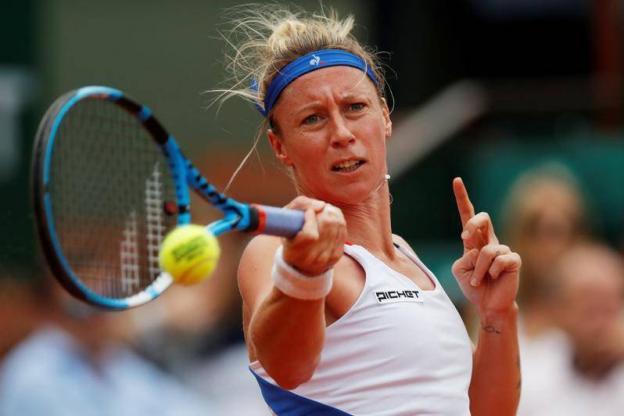 Tennis - WTA - Québec - Pauline Parmentier remporte à Québec son deuxième titre de la saison Photo