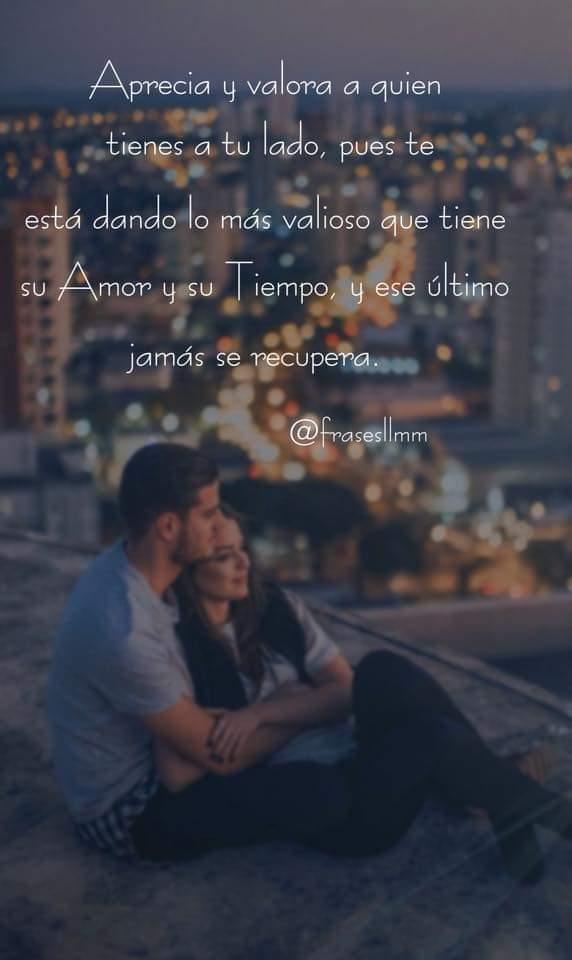 Frases On Twitter Frases Valorar Amor Tiempo