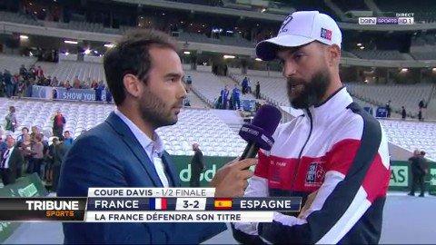 """#CoupeDavis  #FRAESP  Benoit Paire : """"Une très grande fierté""""#ATPextra  - FestivalFocus"""