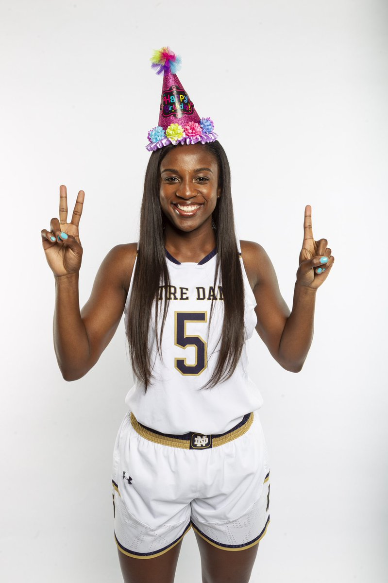 Wishing the happiest of days to @JackieYoung3, as she celebrates her 2️⃣1️⃣st birthday! #GoIrish ☘️