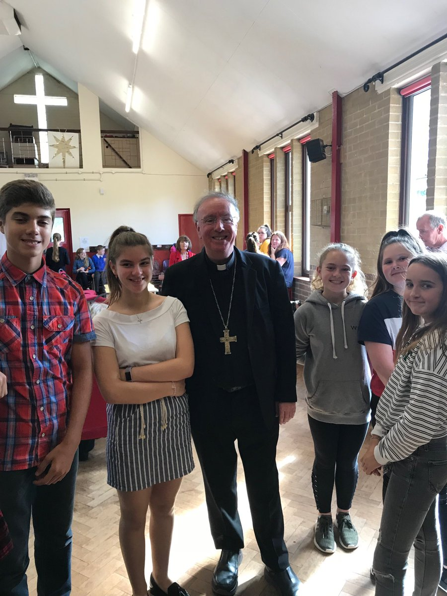 test Twitter Media - Visitation of St Joseph's Tilehurst today. What a great parish! The church was packed to standing six deep at the back. Here's me with some of the young. https://t.co/cP8O8DZfHM