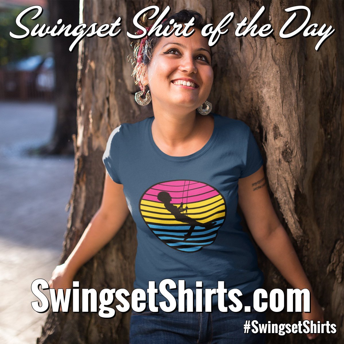 #SSPride - Pansexual Flag - V3 is today's Swingset...