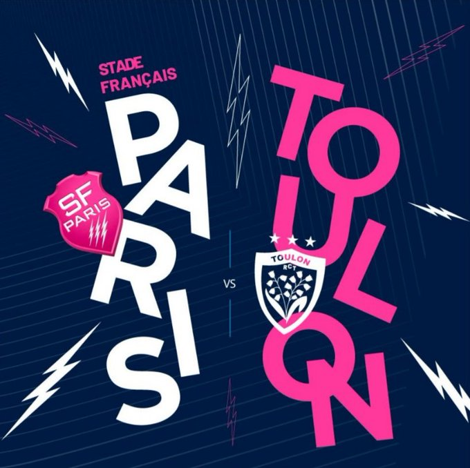 Mouth watering game at Jean Bouin coming up. Bookies have @SFParisRugby to beat Toulon by 6 points. Stade need to bounce back from last weekends loss at Clemont to make sure they keep on track for a top six finish, especially with this game at home #SFPRCT 🏉 #SFParis ⚡⚡⚡ Photo