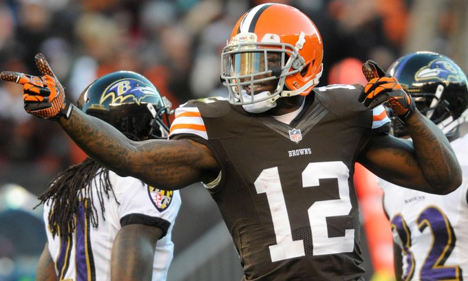 Josh Gordon prefers the Cowboys or the 49ers. Thoughts #CowboysNation? Photo