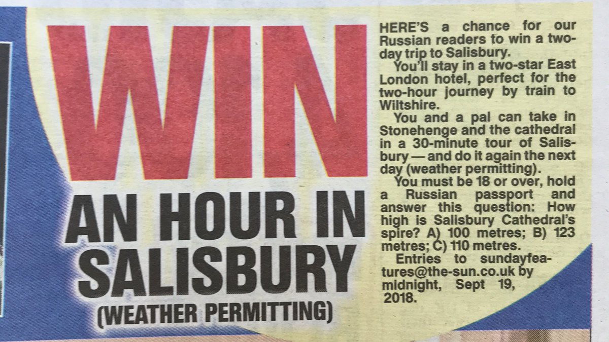 Competition in the Sun on Sunday 😂