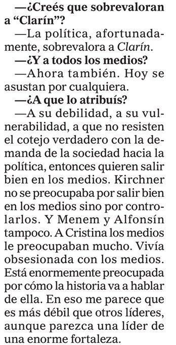 """Entrevista inédita de Fontevecchia a Julio Blanck para su libro Periodismo y verdad, conversaciones con los que mandan en los medios: """"La política, afortunadamente, sobrevalora a Clarín"""" Foto"""
