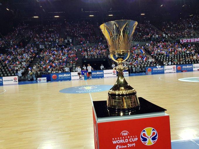 La Coupe du Monde @FIBA est à Montpellier ! 🤩🤩 @FIBAWC #FIBAWC #FRAFIN Photo