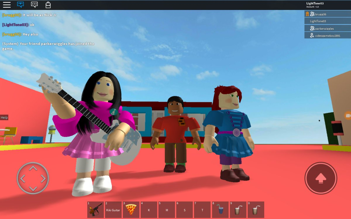 I always have fun with the Fresh Beat Band on ROBLOX  Tweet